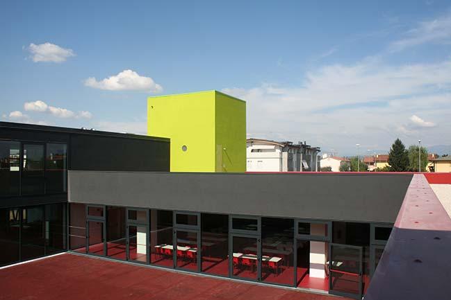 Scuole di Ponzano Veneto - Realizzazione Serramenti
